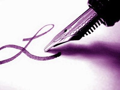 Liebesbrief mit Füller schreiben